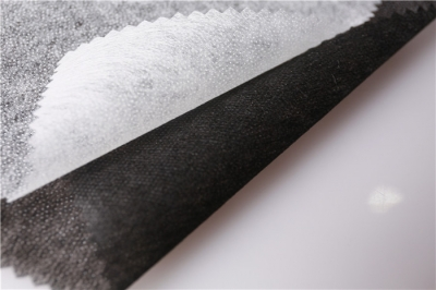 Hot rolling non woven  interlining